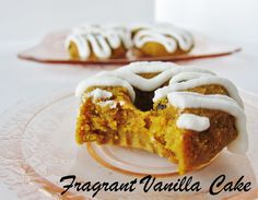 Raw Vegan Carrot Cake Doughnuts♥