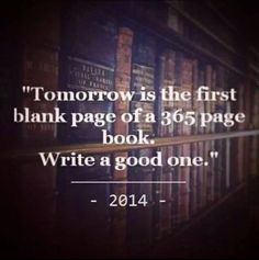 Good-Bye 2013….Hello 2014 – Now Get to Writing