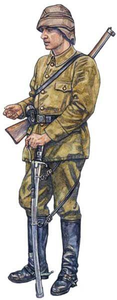 Kawalerzysta regularnej armii osmańskiej, Adrianopol w 1913 roku