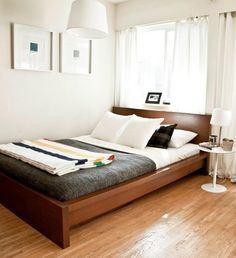 Guest Bed Solutions Small Spac And Bedroom Furniture For Small Spaces Uk Living Room Storage Cabi - Ada Disini Ikea Malm Bed, Small Spaces, Home, Home Bedroom, Small Master Bedroom, Apartment Bedroom Decor, Small Bedroom, Malm Bed, Interior Design