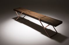 mariana quinelato forms bench clip from studio construction site