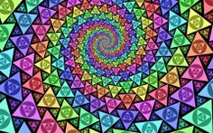 Psychedelic wormhole