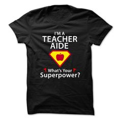 """Teacher-Aide  - SuperHero ® Theme 2015***How to order? 1. Select color 2. Click the """"ADD TO CART"""" button 3. Select your Preferred Size Quantity and Color 4. CHECKOUT! If you want more awesome tees, you can use the SEARCH BOX and find your favorite !!Teacher-Aide"""