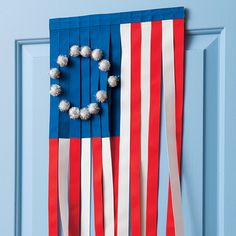 DIY: 4th of July Decor - The Stars and Strips ♥