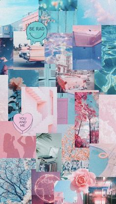 Iphone Wallpaper Tumblr Aesthetic, Iphone Wallpaper Vsco, Mood Wallpaper, Aesthetic Pastel Wallpaper, Iphone Background Wallpaper, Butterfly Wallpaper, Aesthetic Wallpapers, Summer Wallpaper, Wallpaper Pink And Blue