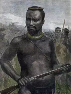 Dabulamanzi - 'Dabulamanzi', brother of King Cetshwayo and commander of the Zulu Army at Isandlwana where the Zulus massacred a battalion of the British Army: Picture by WIM Story