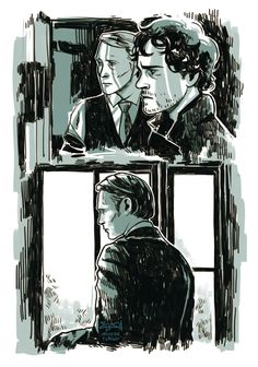 Hannibal Sketches by ~mlysza on deviantART