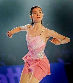 Shizuka Arakawa  Pink Figure Skating / Ice Skating dress inspiration for Sk8 Gr8 Designs