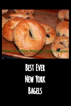 Best New York Style Bagels water bagels are sweet tender bagels baked to perfection! #bagels #homemade #water #newyork #baking #bread #waterbagels #cooking #food #recipes #recipe #newyorkstyle #eating #bestever #raisin #cinnamon #asiago #cheese #blueberry