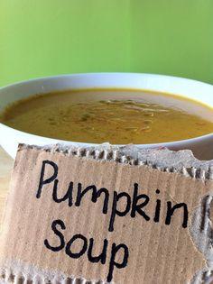 Pumpkin soup #vegan