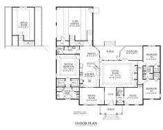 40x80 floor plan home building pinterest for 40x80 metal building plans