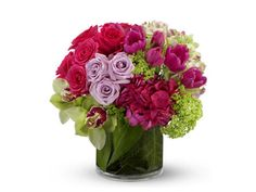Arreglo de flores para boda con florero   Centro de mesa para boda