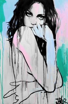 topaz, Acrylic painting by Loui Jover | Artfinder