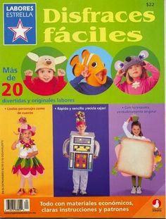 Revistas de manualidades Gratis: Como hacer Disfraces Fáciles