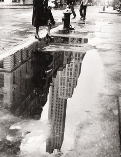April Showers, New York, Bedrich Grunzweig, 1951