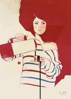 """En kopp kaffe"" as a print | Designchapel™"