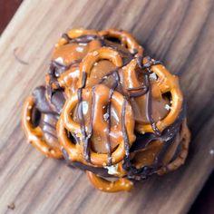 Salted Caramel Pretzel Snaps Recipe on Yummly