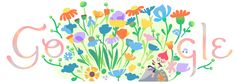From Robin Williams to Virginia Woolf, here are nine quotes about spring time's arrival. 2018 Google Doodle..