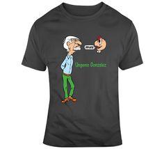 Ungenio Gonzalez T Shirt Spanish Humor, Gifts For Friends, Shirt Style, Mens Tops, Cotton, T Shirt, Stuff To Buy, Fashion, Supreme T Shirt