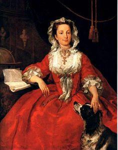 Portrait of Mary Edwards (1742). William Hogarth (Rococo, 1697-1764). Oil on canvas. Frick Collection, New York.
