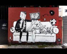 100 streetart design créatifs – Vol 18