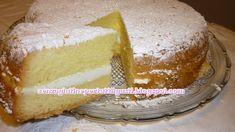 Senza glutine...per tutti i gusti!: Torta Paradiso senza glutine Sin Gluten, Gluten Free Cakes, Cake Cookies, Vanilla Cake, Cheesecake, Cooking Recipes, Pudding, Sweets, Desserts