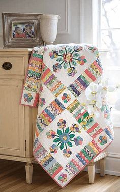 Oh Lolly Lolly Quilt - Quilting Digest