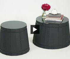 easy diy side/coffee table