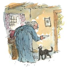 Quentin Blake illustrates newly discovered tale by Peter Rabbit creator Beatrix Potter.
