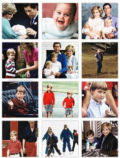 dukeandduchessofcambridge:  Prince William turns 31 today, June 21, 2013 (born June 21, 1982)-Great picture set of William as a child