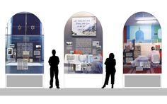 Wo die Götter zuhause sind - Ausstellungsgrafik für das GrazMuseum Museum, Design, Graz, Ad Home, Museums
