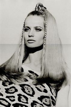 Veruschka--a model from the 60s that was over 6 feet tall