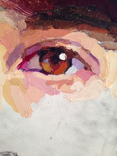 Karen Appleton: The Drummer (Will paint some close ups of eyes/facial features in watercolour, acrylic and oils)                                                                                                                                                                                 More