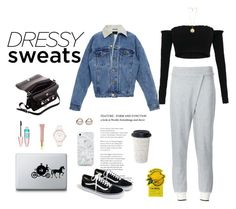 """""""sweatpants"""" by mxi3322 ❤ liked on Polyvore featuring rag & bone, Proenza Schouler, J.Crew, Abbott Lyon, Givenchy, AERIN, Maybelline, Trilogy, Skinnydip and Tony Moly"""