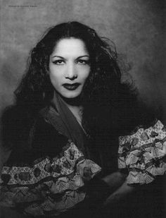Carmen Amaya (Nov 2, 1913 · Barcelona, Spain ~ Nov 19, 1963) Flamenco Dancer & Singer, of Romani origin, born in Somorrostro slum of Barcelona, Spain, Vila Olímpica nowadays. She first danced in a cave near Granada, Spain.  ~Wikipedia http://www.musiquealhambra.com/carmen_amaya.htm