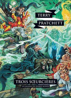 En 2012, Terry Pratchett avait parlé avec émotion de sa relation avec son «bon vieux Josh» dans cette vidéo. | 8 des plus belles couvertures des livres de Terry Pratchett