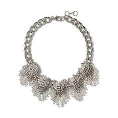 Silver Sparkle Burst Necklace Banana Republic Necklaces