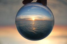 Using a Crystal Ball: A Creative Way to Get Wide Angle Shots