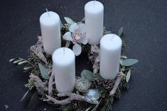 Advent Wreath, Pillar Candles, Type 3, Theater, Wreaths, Facebook, Christmas, Photos, Xmas