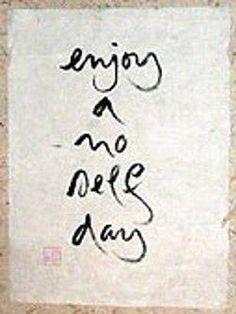 Original Calligraphy by Thich Naht Hahn