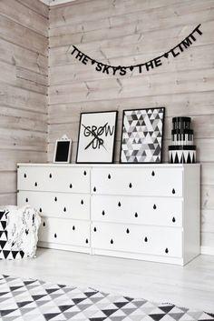 Scandinavian Design | Natural, White, and Black Accessories