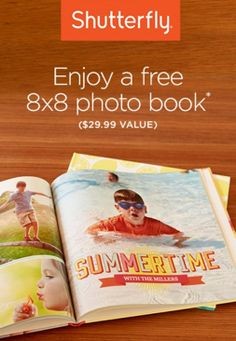 Shutterfly: Free 8x8 Hardcover Photo Book (just pay shipping!) - Money Saving Mom®
