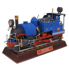 Toy Train - Locomotives - Vehicles - Paper Craft - Canon CREATIVE PARK
