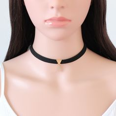 Newest Brown Black Velvet Choker Necklace Rectangle Bar Pendant Gold Silver Plated Women Chokers Collier Femme Black Velvet Choker Necklace, Cheap Choker Necklace, Collar Necklace, Pendant Necklace, Jewelry Necklaces, Golden Necklace, Statement Jewelry, Pendant Jewelry, Black