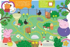 Peppa Pig Printable Maze Pack.. a great after-school activity!