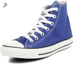 Converse Men's Chuck Taylor All Star Hi Sneaker 8 Blue - Converse chucks for women (*Amazon Partner-Link)