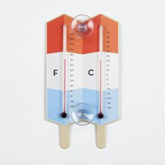 Rainbow Popsicle Thermometer - Whigby