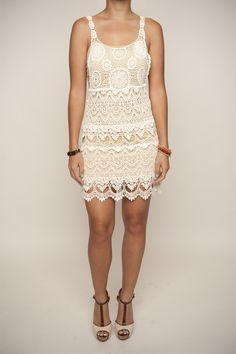 Crochet Lace Dress $39.80