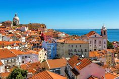 The old Alfama district of Lisbon | Weather2Travel.com #travel #portugal