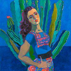 Cactus Garden Huipilista. Kathy Sosa.